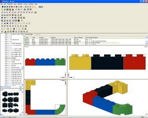 MLCad screenshot
